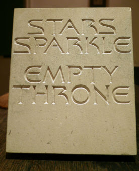 Stars Sparkle Empty Throne