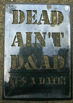 #00002 Dead Ain't D&AD