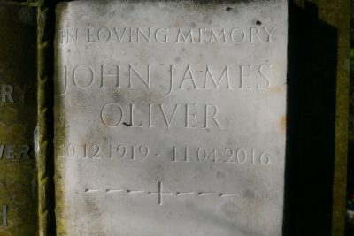 John James Oliver (Close Up)